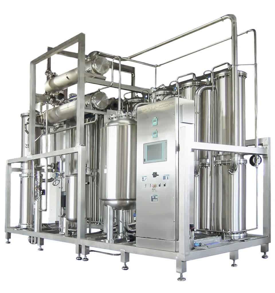 Bram-Cor SMPT Multiple Effect Distiller - Model ST8 3000