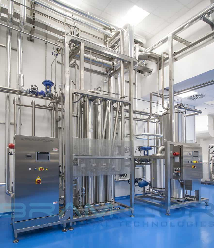 Pharmaceutical Water Treatment Room with Multiple Effect Still and Pure Steam Generator