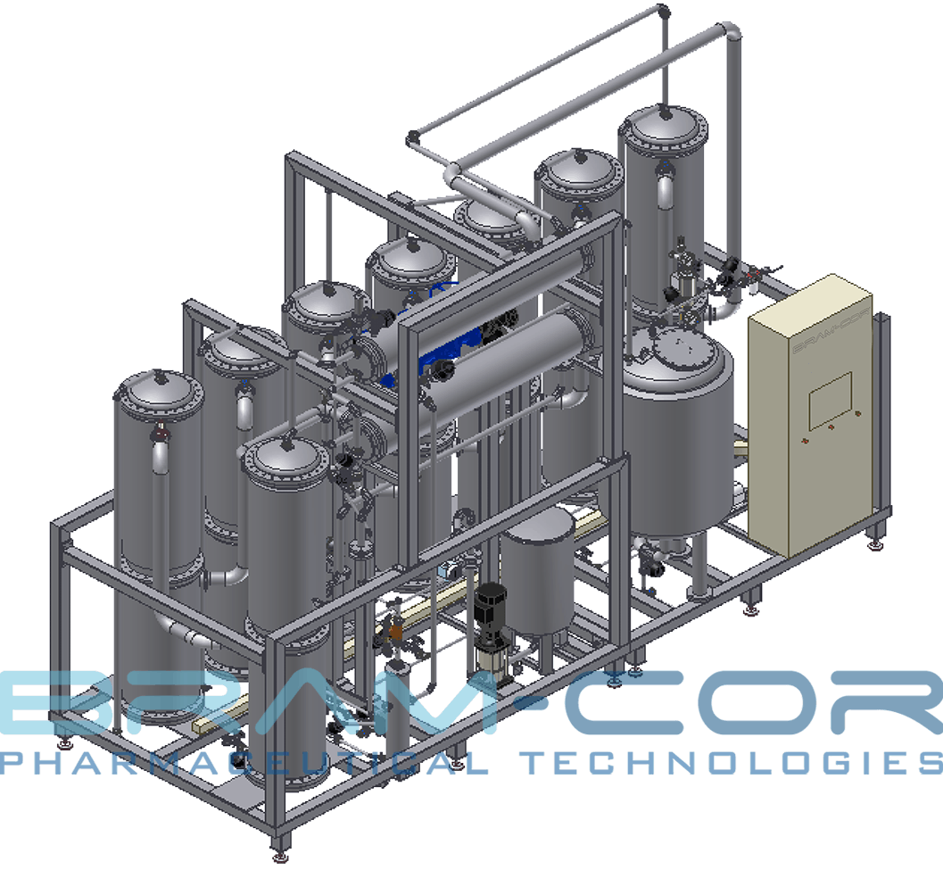 Bram-Cor design of multi effect distiller